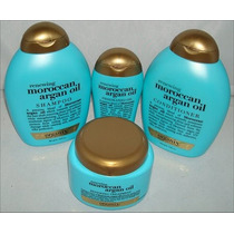 Aceite Argan Shampoo Conditioner Serum Y Crema Revitalizante