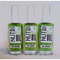 Caida Del Cabello - 3 Meses Tratamiento Nutri Hair Oil
