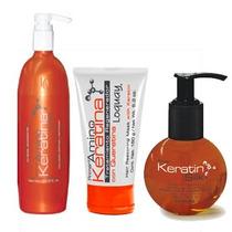 Loquay Kit Restaura Con Keratina Shampoo + Silka+tratamiento