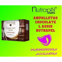 Ampolleta Nutrapel Chocolate Lassio Care C/12pz