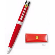 Bolígrafo Sheaffer Ferrari 300 Rosso Corsa - Nuevo, Original
