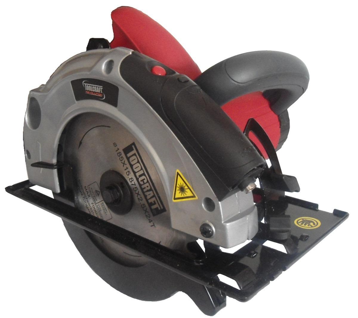 Sierra circular de 7 1 4 toolcraft tc1957 guia laser - Sierra circular precio ...