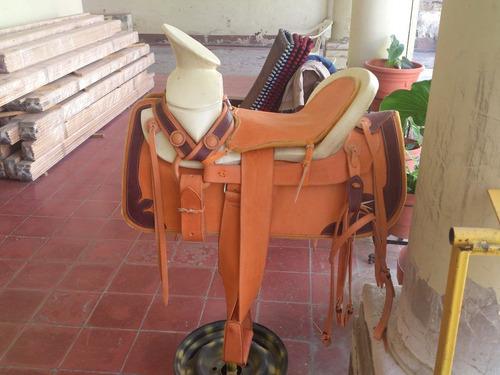 Silla de montar tipo mexico ribeteada vbf 4 en for Sillas para montar