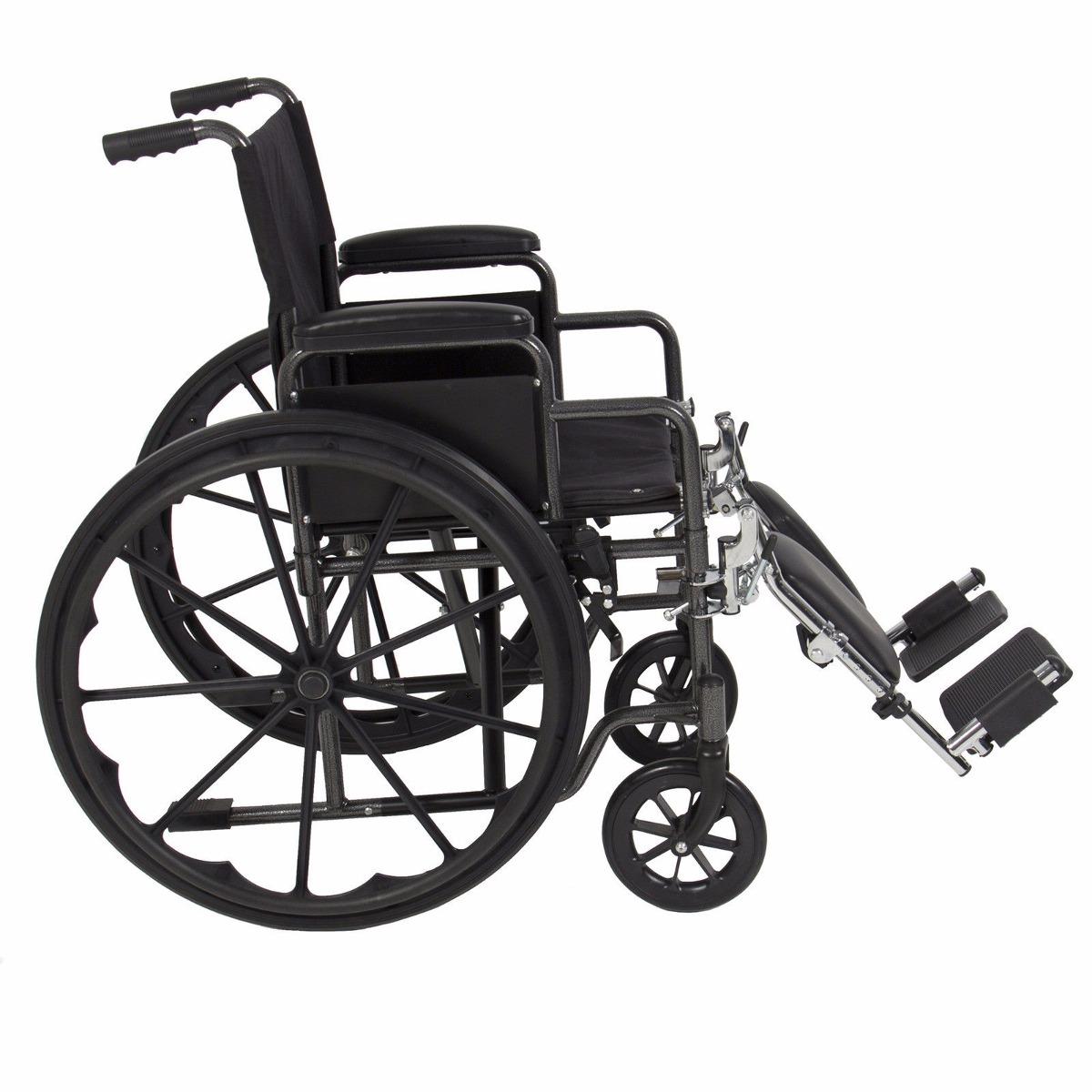Silla de ruedas plegable ligera reposapiernas y roposabrazos 5 en mercadolibre - Silla ruedas plegable ...