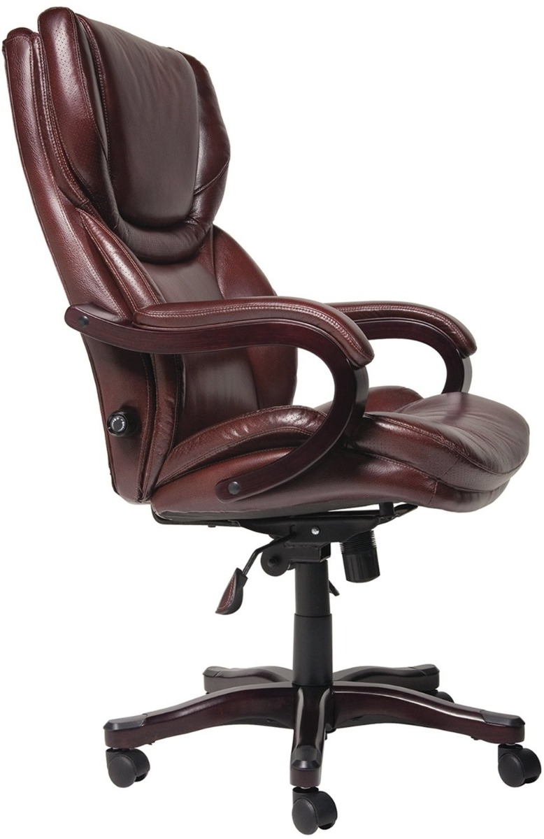Silla ergonomica ejecutiva serta 43506 cafe 5 for Silla ejecutiva ergonomica