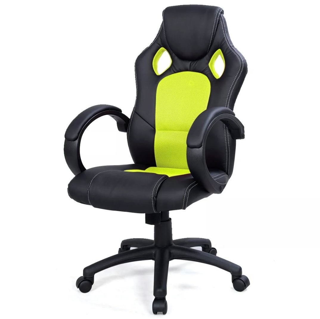 silla gaming oficina c moda escritorio pc piel sintetica