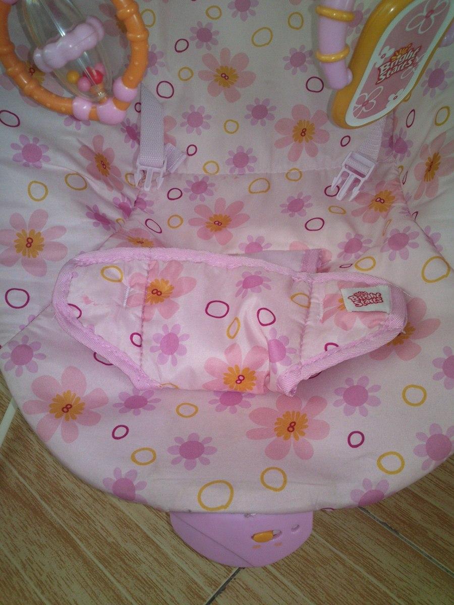 Silla Mecedora Para Bebe Con Vibrador Rosa En