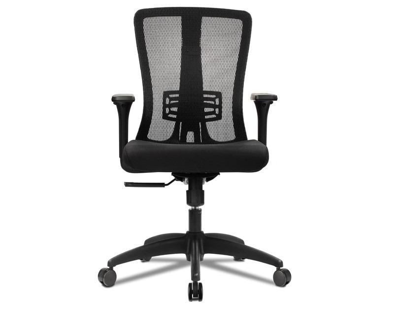 Silla oficina ejecutiva ergonomica de malla ajustable for Silla ejecutiva ergonomica
