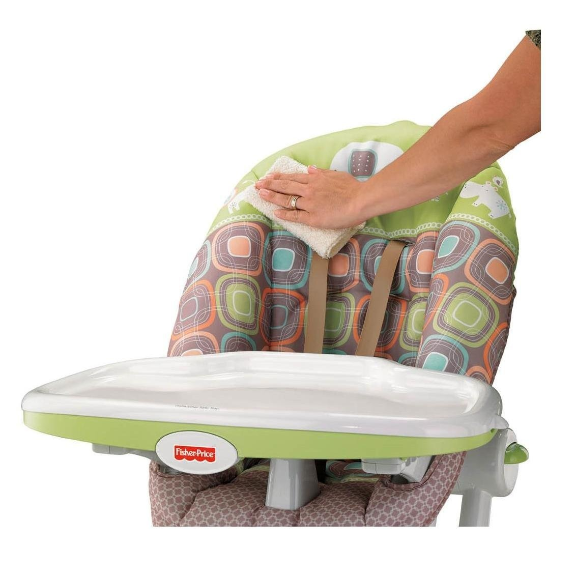Silla para comer periquera fisher price coco sorbet bebe for Silla fisher price para comer