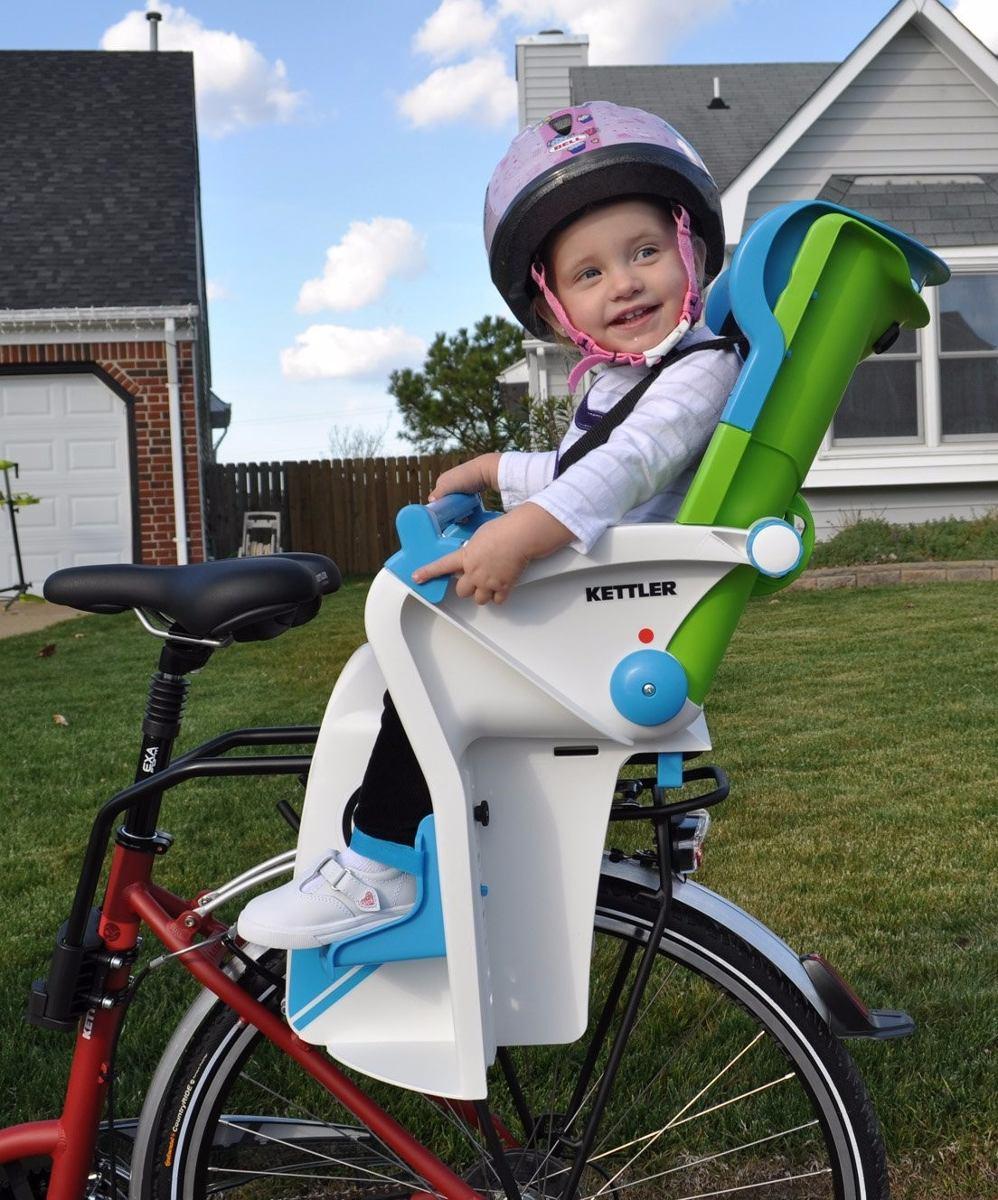Silla portabebe para bicicleta kettler flipper negra azul 2 en mercadolibre - Silla portabebes bicicleta ...