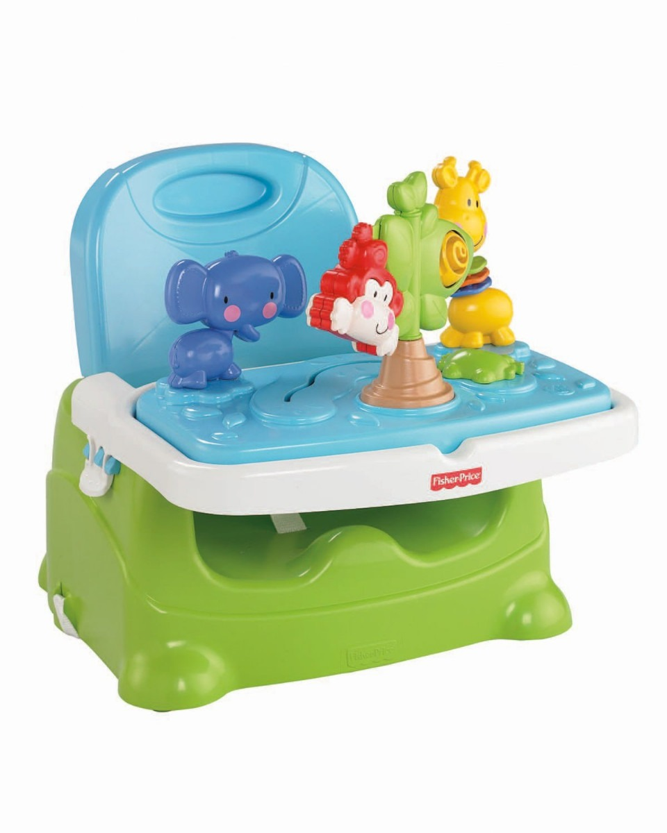 Silla sillita para bebe comer ajustable fisher price vbf for Silla fisher price para comer