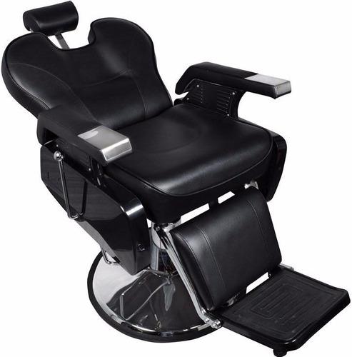 Silla sillon hidraulica reclinable estetica salon barberia for Sillas tipo sillon