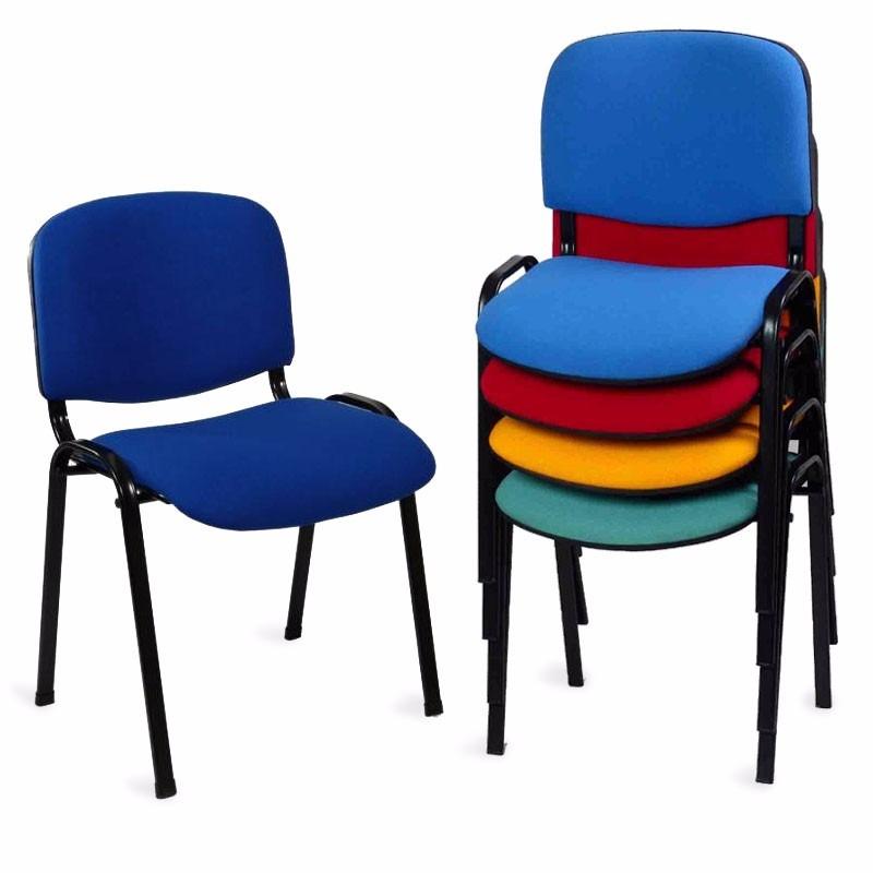 Sillas ads la mejor silla de visita iso tapiz colores for Sillas para visitas