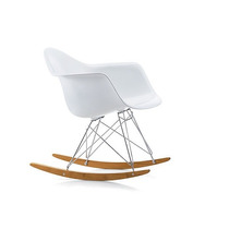 Silla Mecedora Mod Swing Wood By Eames Design