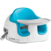 Silla Booster Periquera Bumbo 3 En 1 Azul Con Mesita Oferta!