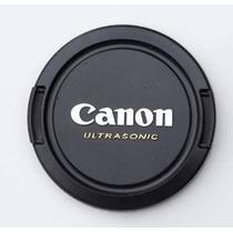 Objetivo Canon 77mm Gorra, Snap-on, Cubierta De La Lente De
