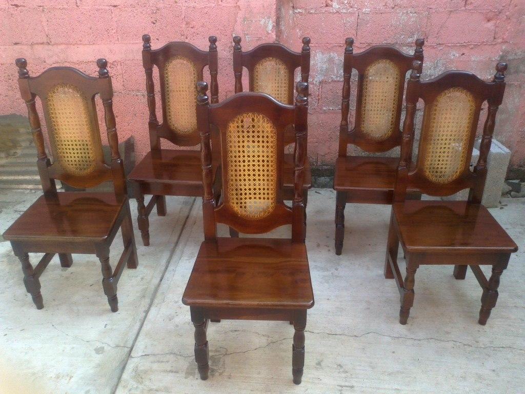 Muebles de cedro en hidalgo 20170810212749 for Sillas wengue comedor