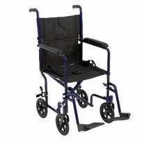 Silla De Transporte Drive Medical Aluminio 19 Pulgadas