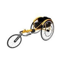 Silla De Ruedas Deportiva Tipo Triciclo