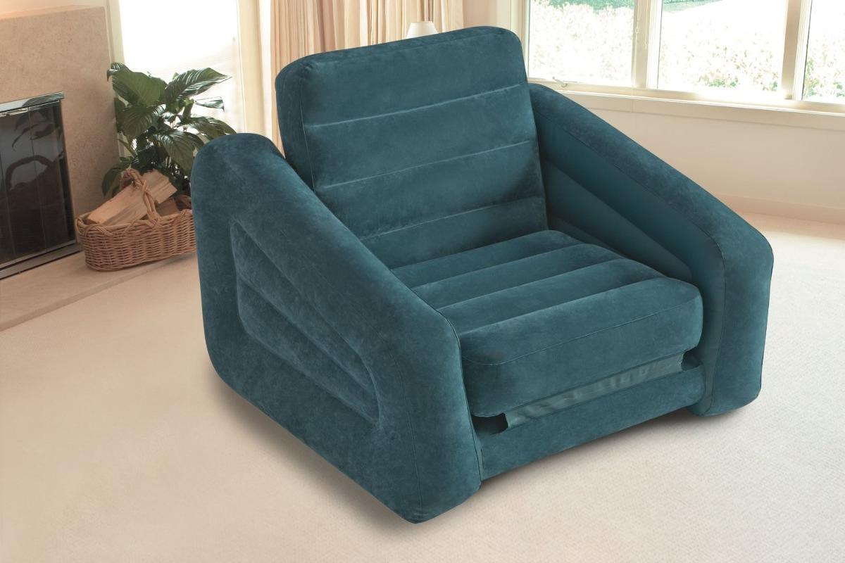Sillon comodo inflable cama individual intex envio gratis for Cama individual tipo sillon