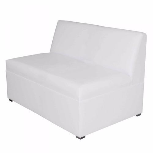 Sill n lounge 2 plazas en tela o vinil increible precio for Sillon cama 2 plazas precios