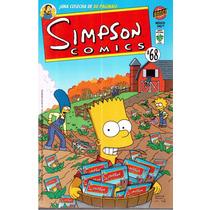 Simpson Comics Núm. 68 ¡una Cosecha De 80 Páginas!