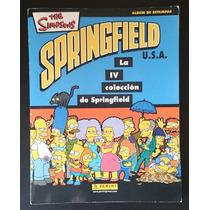 Álbum Panini The Simpsons. La 4a Colección Springfield.