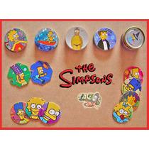 Tazos Los Simpsons 1995 / 2006 / 2012 Lote De 56 Tazos C