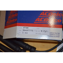 Cables De Bujia Aveo, G3 Originales Acdelco