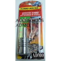 Efecto Turbo Whistle Generador Aluminio Tuning