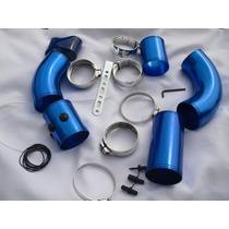Kit Para Filtro De Aire De Alto Flujo Universal Color Azul