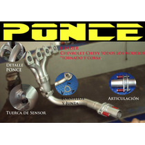 Header Ponce Racing Chevy Corsa Tornado Todos Sp0