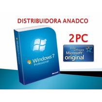 Windows 7 Professional Retail 2 Pc 32/64 Bits