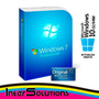Windows 7 Pro Professional Sp1 Licencia Original Para 5 Pc