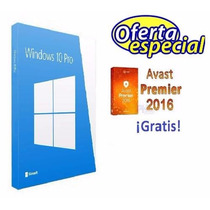Windows 10 Professional Licencia Retail Original + ¡regalo!
