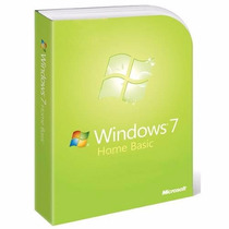 Windows 7 Home Basic Sp1 Licencia Original Para 5 Pc