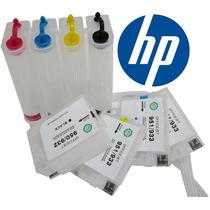 Sistema De Tinta Continua Hp 932 933 7110 7610 C/ Chips