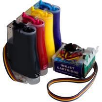 Sistema Tinta Continua Para Impresoras Epson De 4 Cartuchos