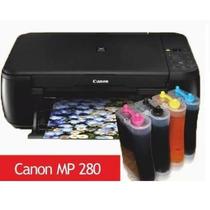 Tinta Continua Para Canon Pixma Mp280 Mp240 Mp260 Mp250