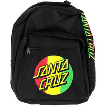 Morral Bag Pack Santa Cruz Logo Rasta