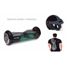 Hoverboard Patineta Electrica Skate Batman + Casco + Mochila