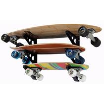 Rack Soporte Para Patinetas Skateboard Longboard