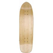 Tb Skateboard Bamboo Skateboard Pool Deck Cruiser 9 X 32
