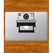 Stickers Macbook Laptop Polaroid Cámara Nikon Varios Modelos