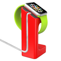 Stand Soporte Dock Apple Watch 38 Mm 42mm Rojo