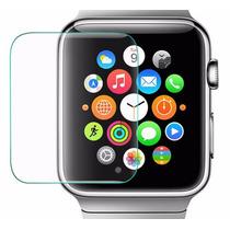 Cristal Templado + Funda Colores Para Apple Watch 38 Y 42mm