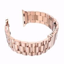 Correa De Reloj Hoco Acero Inoxidable Rosa Oro Apple Iwatch