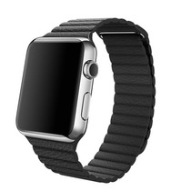 Extensible De Cuero Correa Para Apple Watch De 42mm