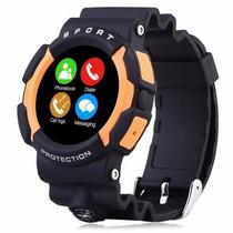 Reloj Smartwatch N. 1 A10 Uso Rudo Agua Caídas Iphone Andori