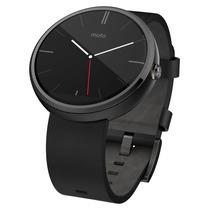 Motorola Moto 360 Smart Watch Reloj Piel Android Nuevo Caja